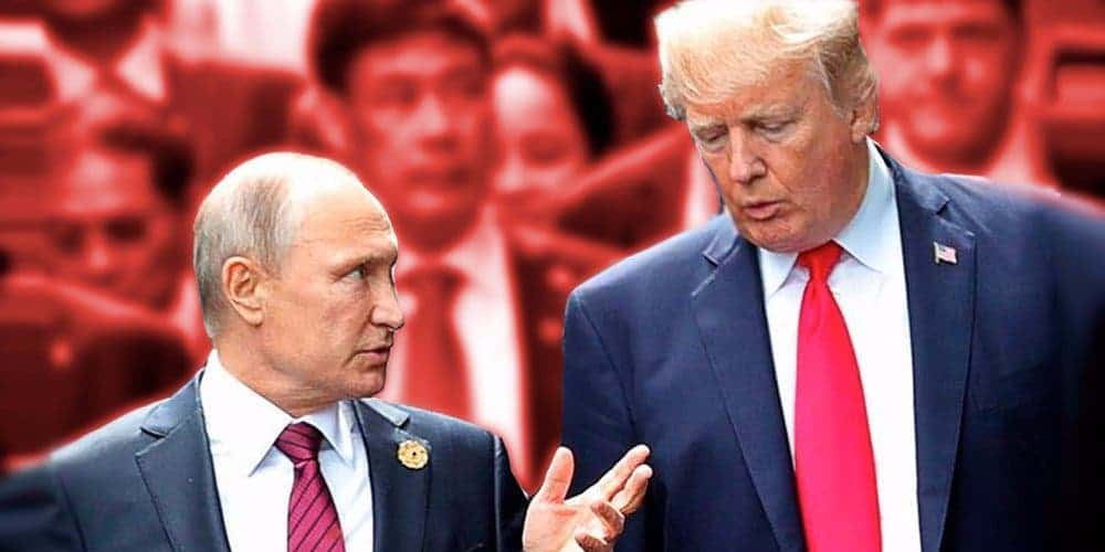 Trump is guilty as hell, so he might as well collude with Putin in public now