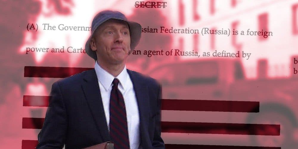 We know what Carter Page did last summer, and the one before. Subscribe to find out