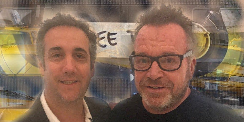Tom Arnold just revealed the inside story of Michael Cohen flipping on Trump – 1 of 3