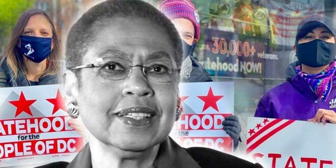 Rep. Eleanor Holmes Norton (D-DC) is the top proponent of DC statehood.
