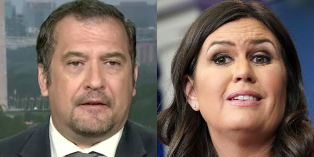 """Brian Karem just asked why it took Trump's """"propaganda artist"""" so long to leave"""