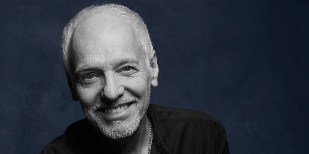 "Peter Frampton just announced four new albums while he's ""on top of his game"""