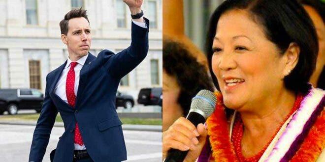 Senator Hirono slams Josh Hawley