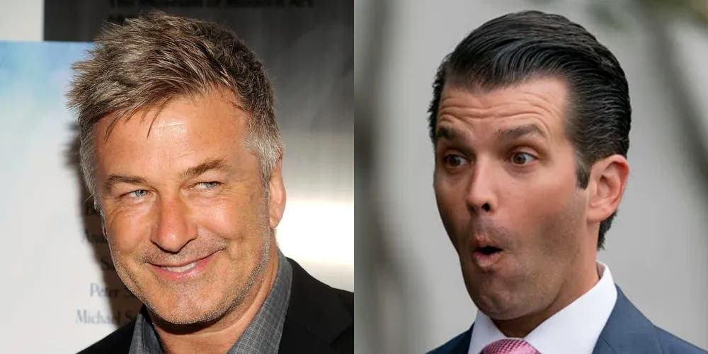 Alec Baldwin just told us Don Jr. will have plenty of time to watch SNL from jail