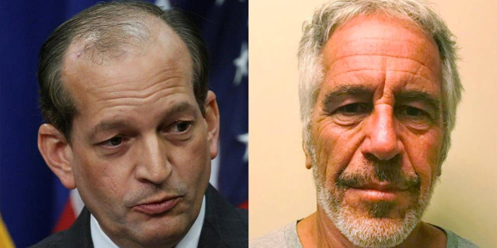 Journalist who first exposed Jeffrey Epstein just laughed at Acosta's Trump-like lies